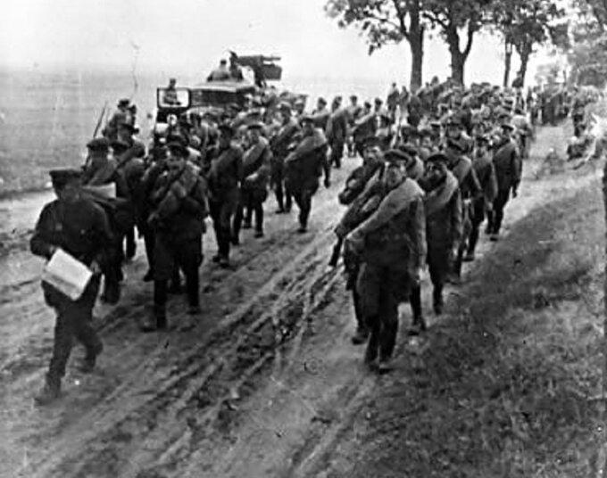 Oddział Armii Czerwonej podczas ataku naPolskę, wrzesień 1939r.