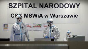 Ilu pacjentów może przyjąć Narodowy? Szef szpitala odpowiada