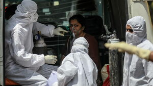 Koronawirus. Indie ustanowiły światowy rekord zakażeń