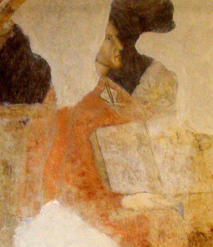 Najstarszy udokumentowany portret Dantego Alighieri, Palazzo dell'Arte dei Giudici e Notai, Florencja