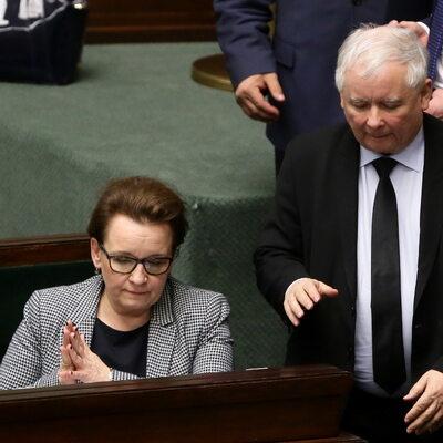 RMF FM: Kaczyński zawarł umowę z Zalewską. Chodzi o wybory