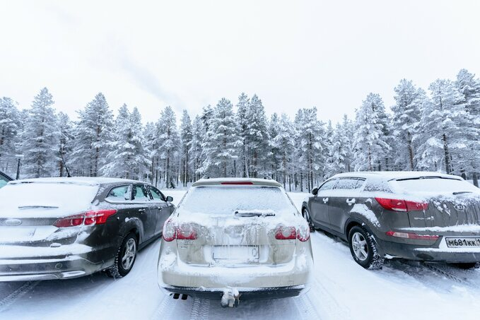 Samochody nielubią zimy