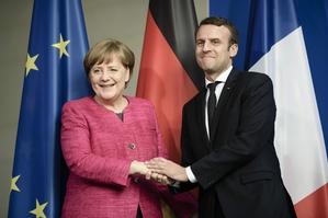 Koronawirus. Merkel i Macron apelują do krajów UE