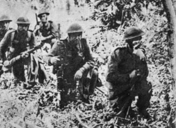 Polska piechota naMont Ormel podczas bitwy podFalaise