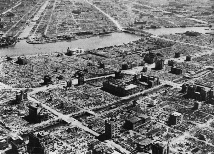 II wojna naDalekim Wschodzie. Tokio ponalocie dywanowym, 1945 rok