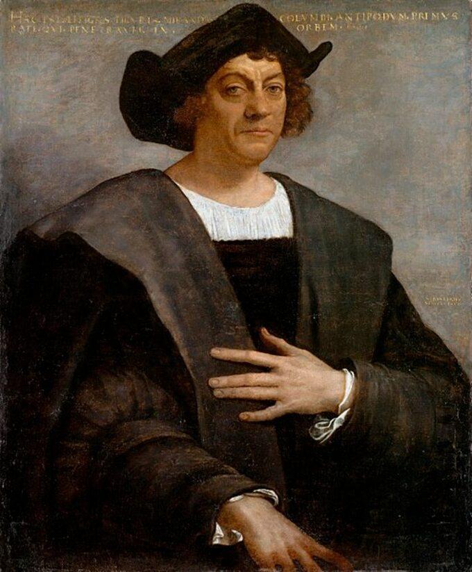 Sebastiano del Piombo, domniemany portret Krzysztofa Kolumba