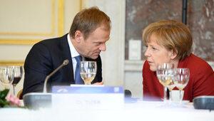 """""""Właściwie to mi wstyd"""". Tusk wspomina rozmowę z Merkel"""