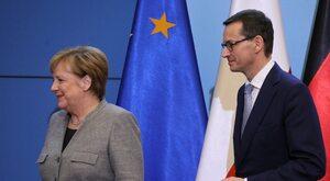 """""""Zawsze brutalnie grała o interesy Niemiec"""". Merkel kontra Polska"""