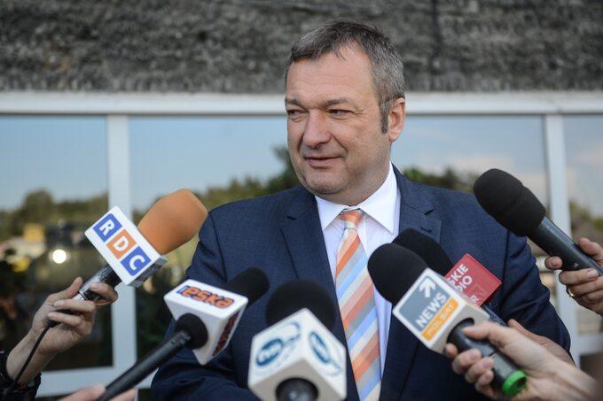 Podsekretarz stanu wMinisterstwie Zdrowia -Marek Tombarkiewicz