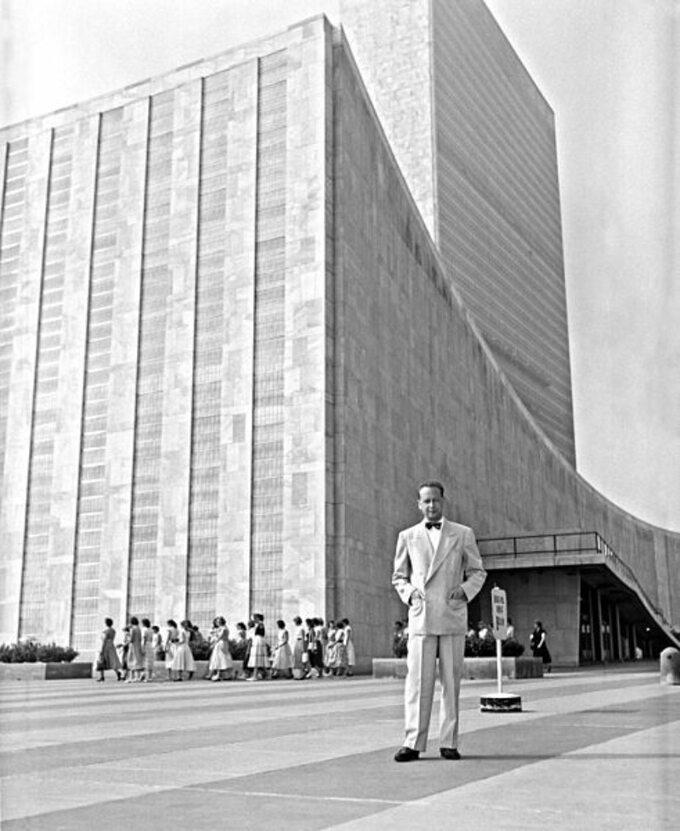 Dag Hammarskjöld, Sekretarz Generalny ONZ 1953-1961