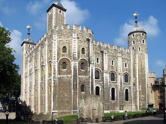Biała Wieża, najstarsza część Tower