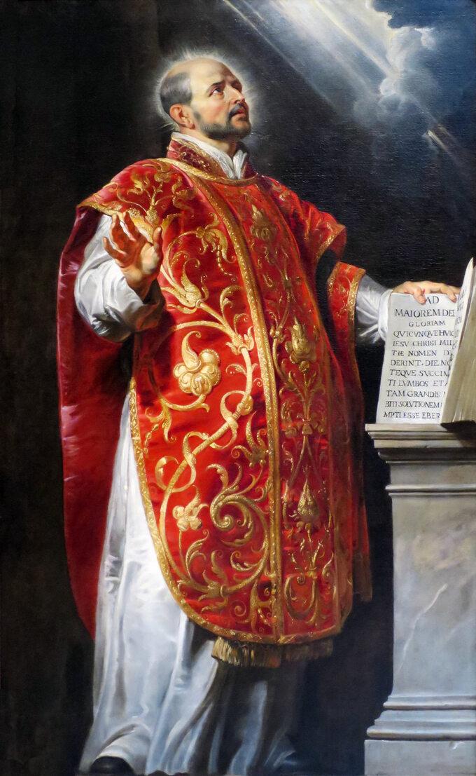 P.P. Rubens, Ignacy de Loyola