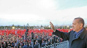 Wielki sułtan Erdoğan