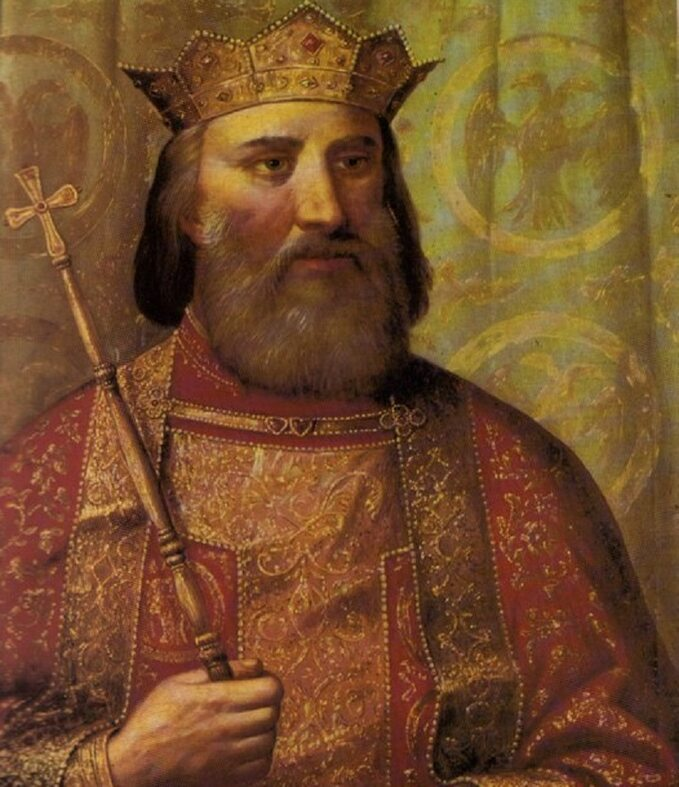 Książę Lazar naobrazie Wladislawa Titelbacha (1900)