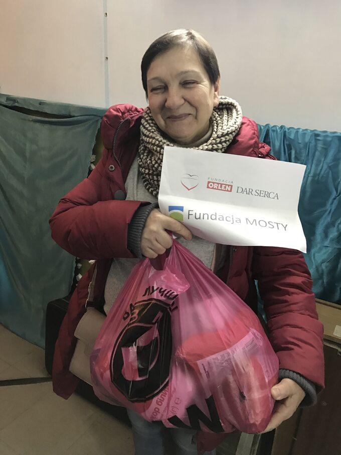 Pomoc materialna przeznaczona dlaPolaków naUkrainie
