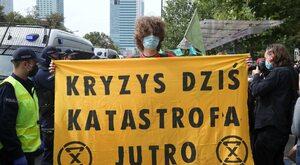 Ekspert o proteście w Warszawie: To nie są żadni ekolodzy