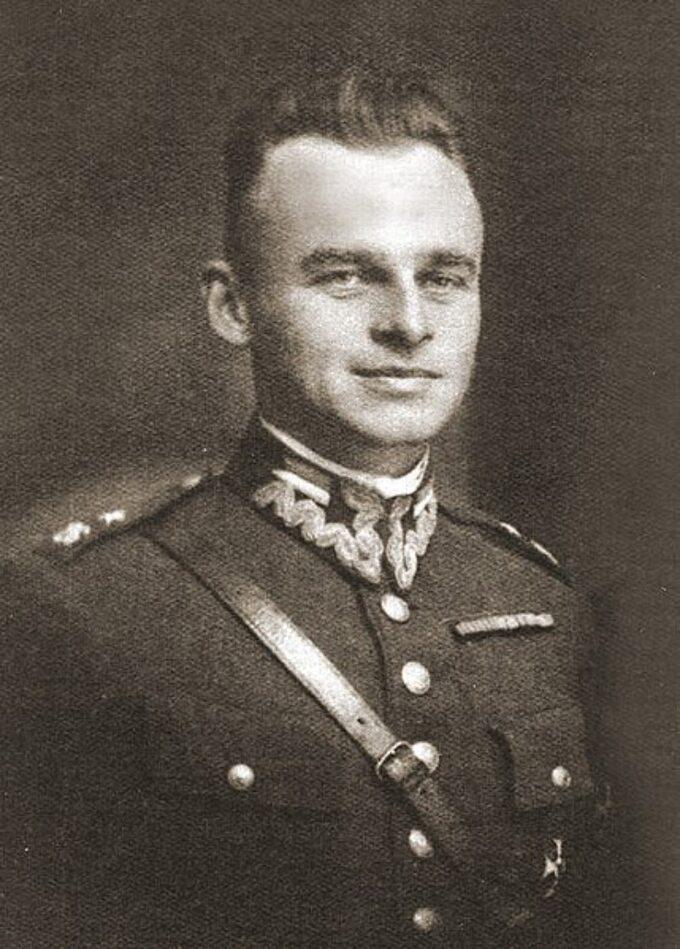 Witold Pilecki jako podporucznik Wojska Polskiego