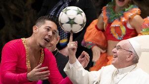 Papież spotkał się z cyrkowcami z Kuby. Zobacz niezwykłe nagranie