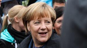 Miecz w serce Merkel
