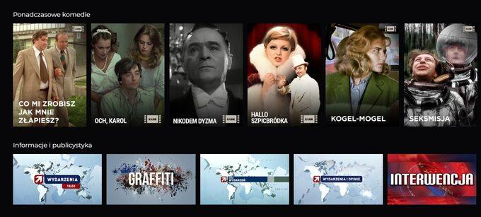 Wbezpłatnym Polsat Go znajdziemy również klasyki polskiego kina