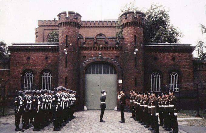 Więzienie Spandau, gdy przebywał wnim Rudolf Hess, 1986r.