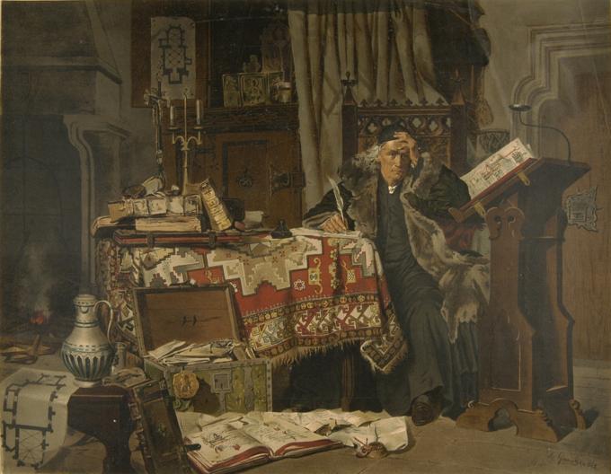 Antoni Gramatyka, Jan Długosz