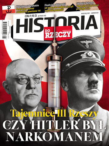 """Okładka miesięcznika """"Historia Do Rzeczy"""" nr 8/2021 (102)"""