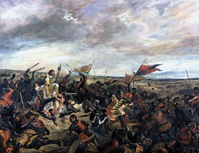 Eugène Delacroix, Bitwa podPoitiers (1356)