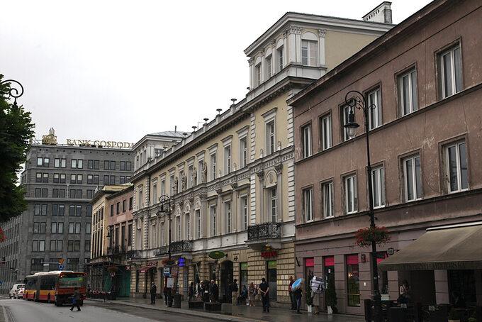 Pałac Kossakowskich przy ul. Nowy Świat, Warszawa