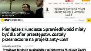 """Obrona przed LGBT w """"Do Rzeczy"""" – lewicowe media w amoku"""