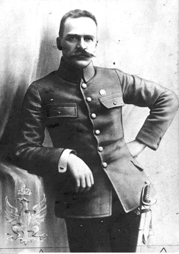 Józef Piłsudski w1914r.
