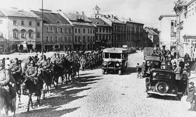 Wkroczenie Armii Czerwonej doWilna 19 września 1939