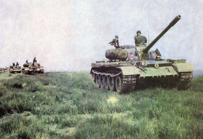 Czołg T-54A Ludowego Wojska Polskiego. Zdjęcie ilustracyjne. Fot: Z. Chmurzyński