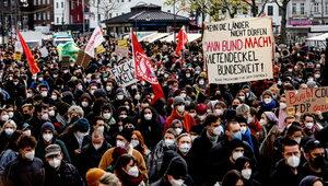 Niemcy: Wielotysięczny protest po wyroku TK