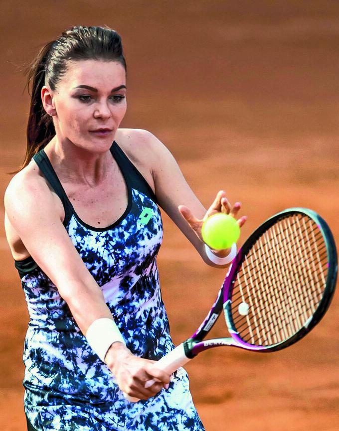 Agnieszka Radwańska była najwyżej  sklasyfikowaną Polką werze open  – nadrugim miejscu rankingu WTA