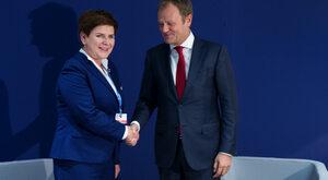 O Tusku, zamachu na Poniatowskiego i realnej polityce