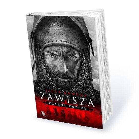 """Roczna prenumerata miesięcznika Historia Do Rzeczy z prezentem Jacek Komuda """"Zawisza. Czarne krzyże"""""""