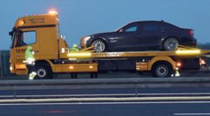 Co się stało na autostradzie