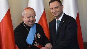 Order Orła Białego dla kard. Stanisława Dziwisza