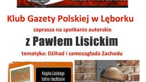 Spotkanie z Pawłem Lisickim w Lęborku