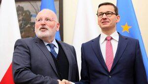 Spotkanie Morawieckiego z Timmermansem, prezydent na Dolnym Śląsku