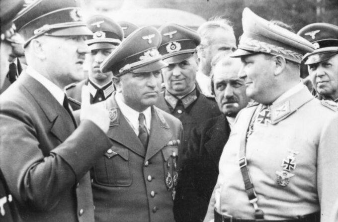 Adolf Hitler wWilczym Szańcu