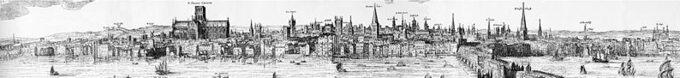 Claes Van Visscher, Panorama Londynu 1616 rok