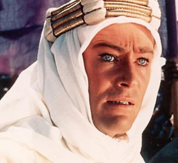 Peter O'Toole jako tytułowy Lawrence