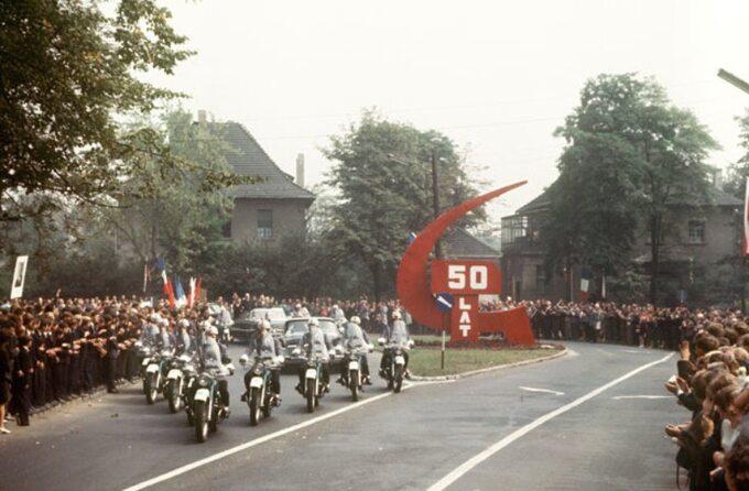 Wizyta Charlesa de Gaulle'a wPolsce, 1967 rok