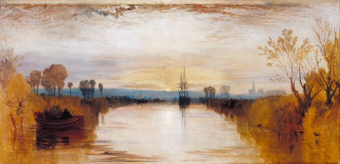 William Turner, Chichester Canal (1828)