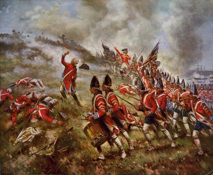Percy Moran, Bitwa podBunker Hill