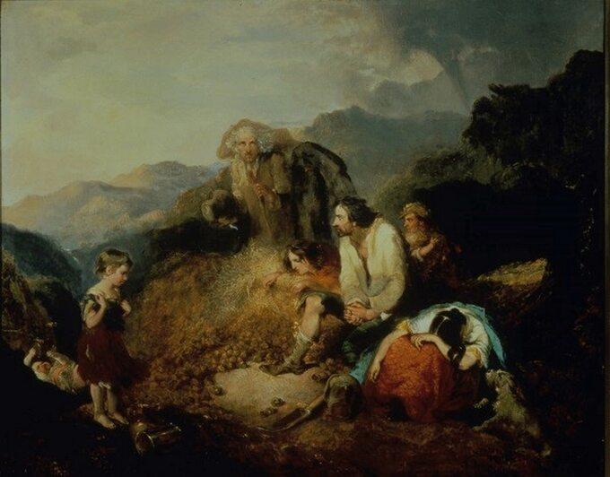 Daniel MacDonald, Irlandzka rodzina chłopska odkrywa plagę