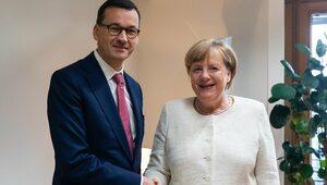 Morawiecki rozmawiał z Merkel. Spotkali się w Brukseli