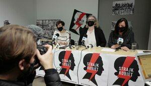 """""""Do niczego się nie przyznajemy"""". Strajk Kobiet zapowiada piątkowy protest"""